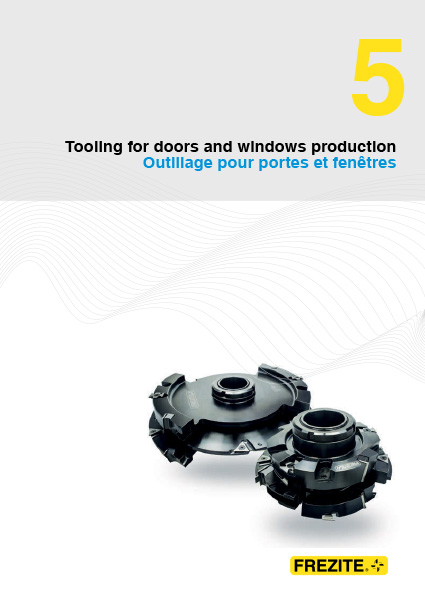 Tooling for doors and windows production