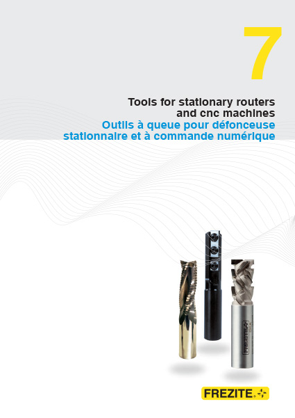 Tools for stationary routersand cnc machines